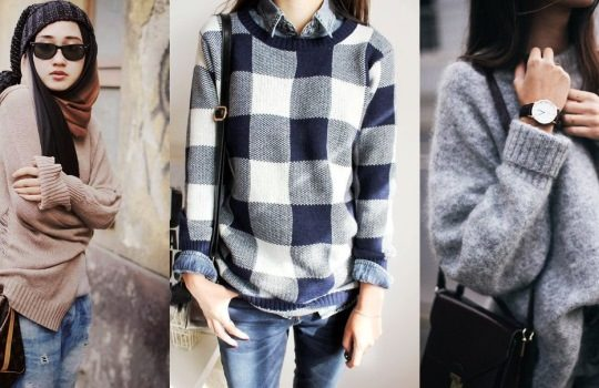 Cara Tips Tampil Stylish Kekinian dengan Sweater di Musim Hujan